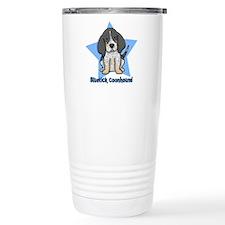 Star Kawaii Bluetick Coonhound Travel Mug