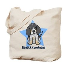 Star Kawaii Bluetick Coonhound Tote Bag