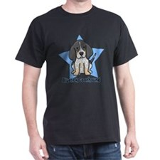Star Kawaii Bluetick Coonhound T-Shirt