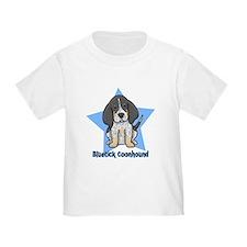 Star Kawaii Bluetick Coonhound T