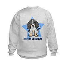 Star Kawaii Bluetick Coonhound Sweatshirt