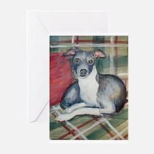 An Italian Greyhound Greeting Cards (Pk of 10)