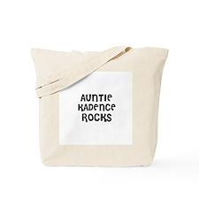 AUNTIE KADENCE ROCKS Tote Bag