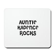 AUNTIE KADENCE ROCKS Mousepad