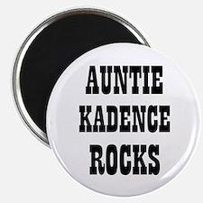 "AUNTIE KADENCE ROCKS 2.25"" Magnet (10 pack)"
