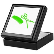 Comb & Scissors - Hairdresser Keepsake Box