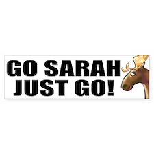 Go Sarah Go Bumper Bumper Sticker