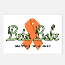 Beta Babe Postcards (Package of 8)