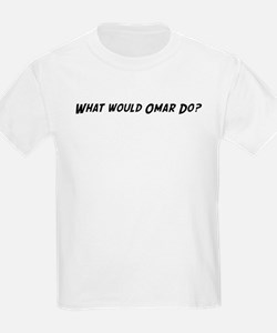 What would Omar do? Kids T-Shirt