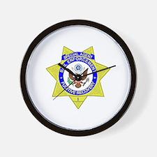 Bail Enforcement Agent Wall Clock