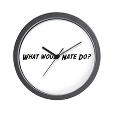 What would Nate do? Wall Clock