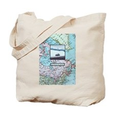 Stay between the ditches Tote Bag