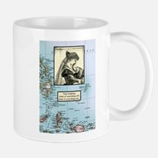 Stop laughing, think of somet Mug