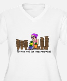 One With Most Pots Wins! T-Shirt