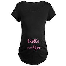 Little Nudger Maternity Dark T-Shirt