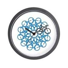 Bicycle Art Wall Clock