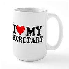 I love my secretary Mug