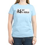 As fit as a fiddle Women's Pink T-Shirt