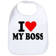 I love my boss Bib