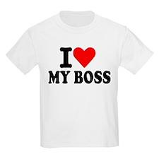 I love my boss T-Shirt