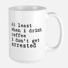 Arrested Large Mug