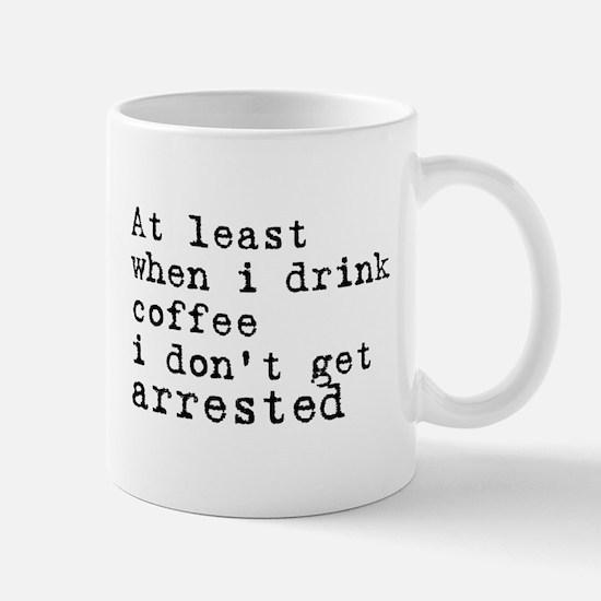Arrested Mug