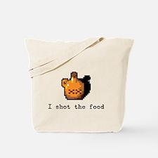 I shot the food Tote Bag