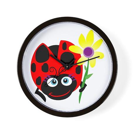 My Ladybug Wall Clock
