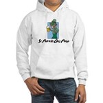 St. Patrick's Day Pimp Hooded Sweatshirt