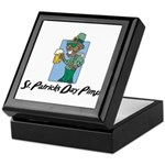 St. Patrick's Day Pimp Keepsake Box