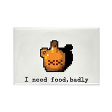 I need food, badly Rectangle Magnet