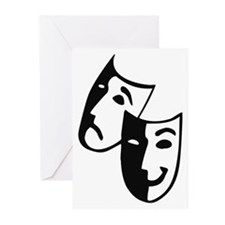 Masks Greeting Cards (Pk of 20)