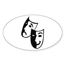 Masks Oval Decal