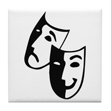 Masks Tile Coaster