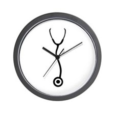Stethoscope - Doctor Wall Clock