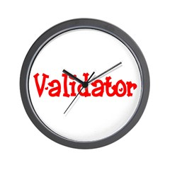 Validator Wall Clock