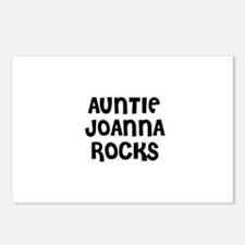 AUNTIE JOANNA ROCKS Postcards (Package of 8)