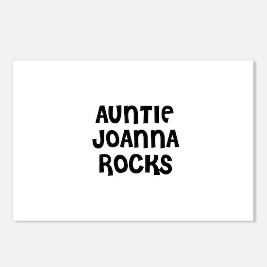 AUNTIE JOANNA ROCKS Postcards (Package of 8)