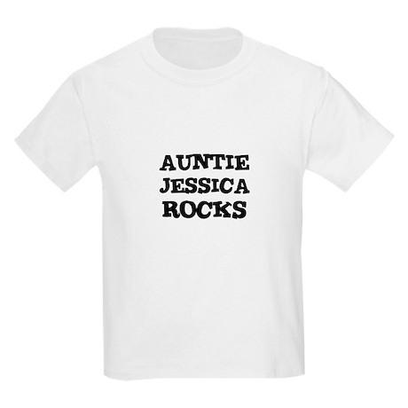 AUNTIE JESSICA ROCKS Kids T-Shirt