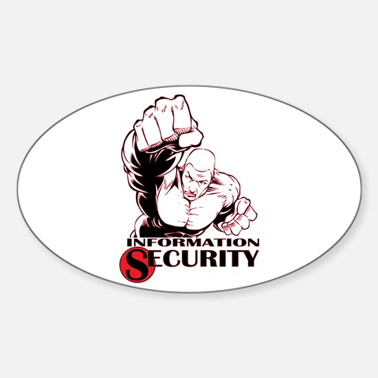 Information Security Oval Decal
