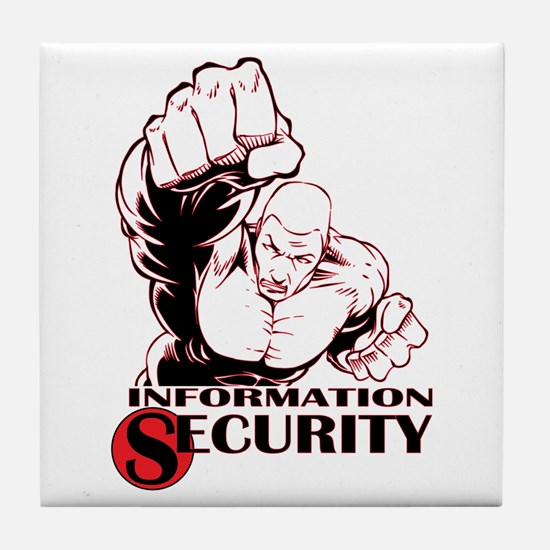 Information Security Tile Coaster