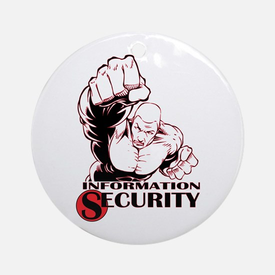 Information Security Ornament (Round)