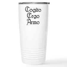 Cogito Ergo Armo Travel Mug