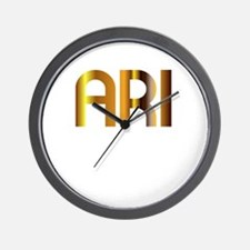 Ari is My Agent Wall Clock