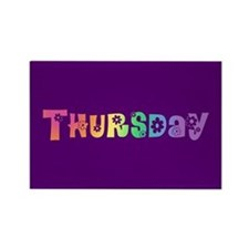 Cute Thursday Rectangle Magnet