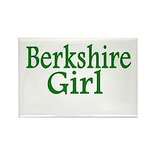 Berkshire Girl Rectangle Magnet