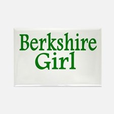 Berkshire Girl Rectangle Magnet