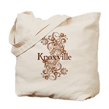Knoxville Swirls Tote Bag