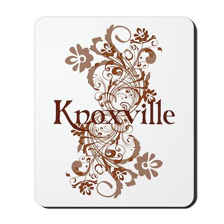 Knoxville Swirls Mousepad