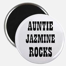 "AUNTIE JAZMINE ROCKS 2.25"" Magnet (10 pack)"
